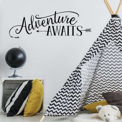 Adventure awaits with teepee