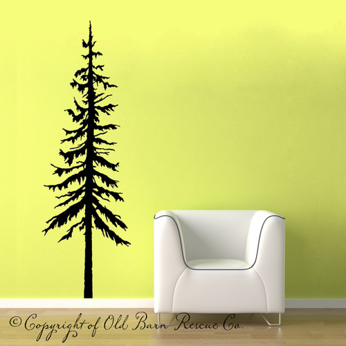 pine tree - wall decal