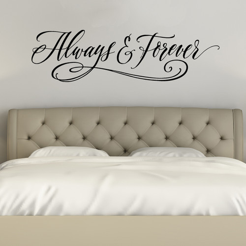 Always and Forever - Wall Decal