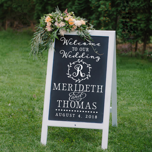 Welcome to our wedding - Merideth