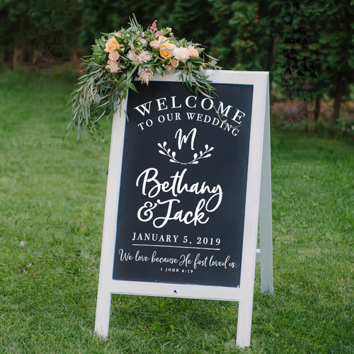 Welcome to Our Wedding Bethany