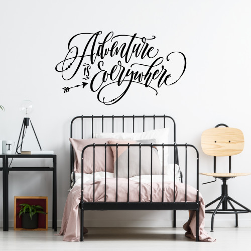 Adventure is Everywhere Wall Decal