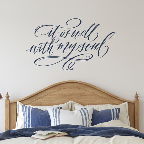 It is well with my soul wall decal
