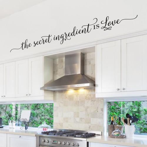 The secret ingredient is Love