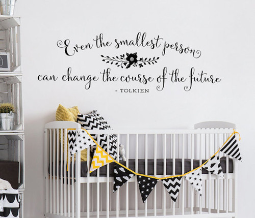 Wall Decals for Nursery | Tolkien | Inspiring Sayings