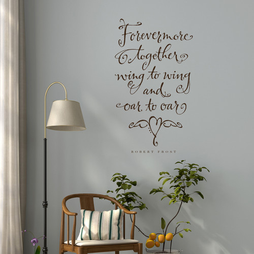 Forevermore together - Wall Decal