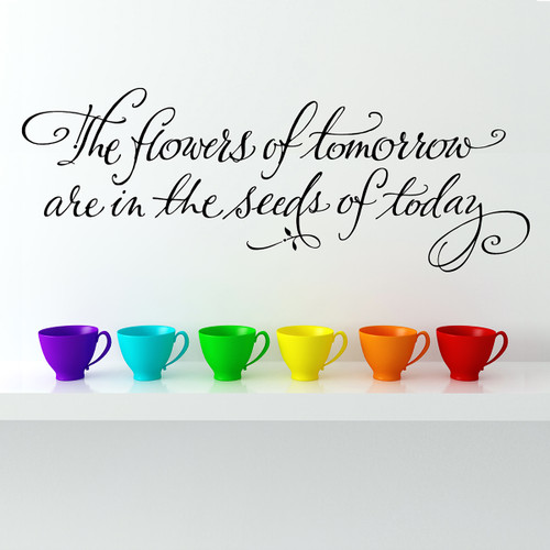 The flowers of tomorrow Wall Decal