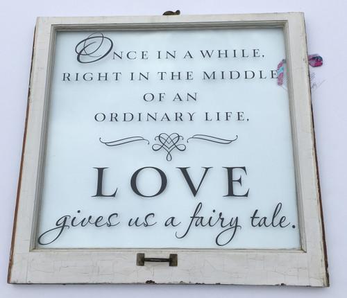 Fairy Tale window