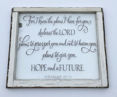Jeremiah 29 window