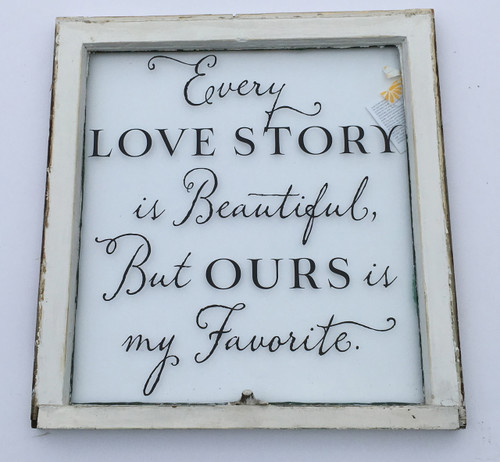 every love story window