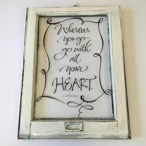 Wherever you go window