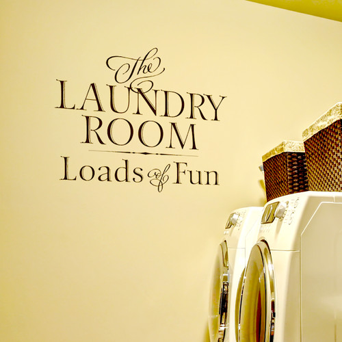 The Laundry Room - Wall Decal