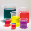 Plastic Beakers, Set of 6 (very small to very large)