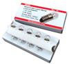 E10 incandescent light bulb, 1.35 volt, 0.06 Amps, Pack of 10, MiniScience brand