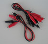Test lead set, Wires with Alligator Clips, Set of 6
