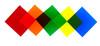 "Color Filter, Set of 5 Colors, 4"" x 4"""