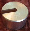 Slotted mass, Slotted Weight, 100 grams, for Aluminium hanger