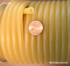 """Rubber Tubing, Natural, Amber, 3/16"""" ID"""