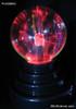 Plasma bulb in the dark