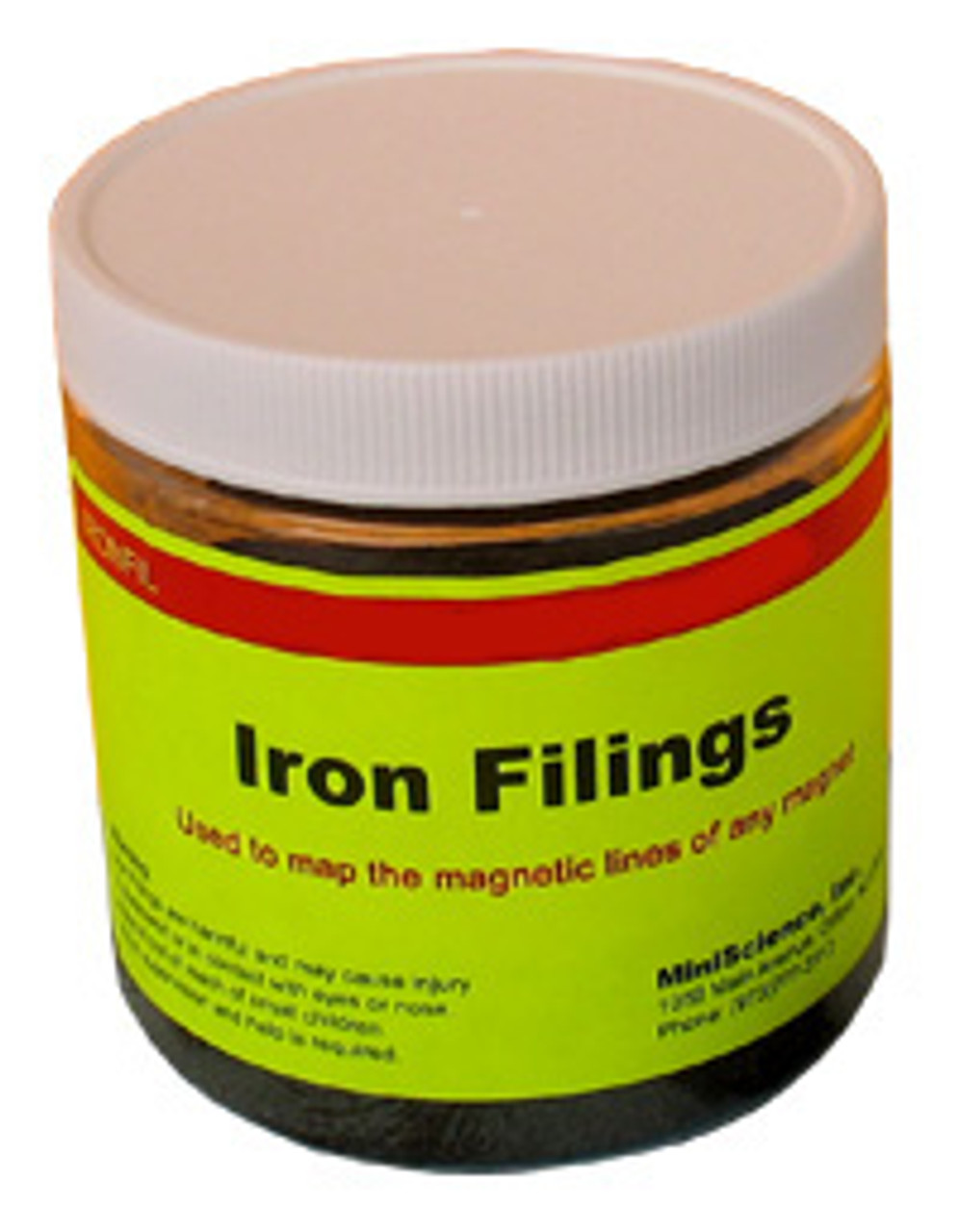 Iron filing for magnet and electromagnet science experiments