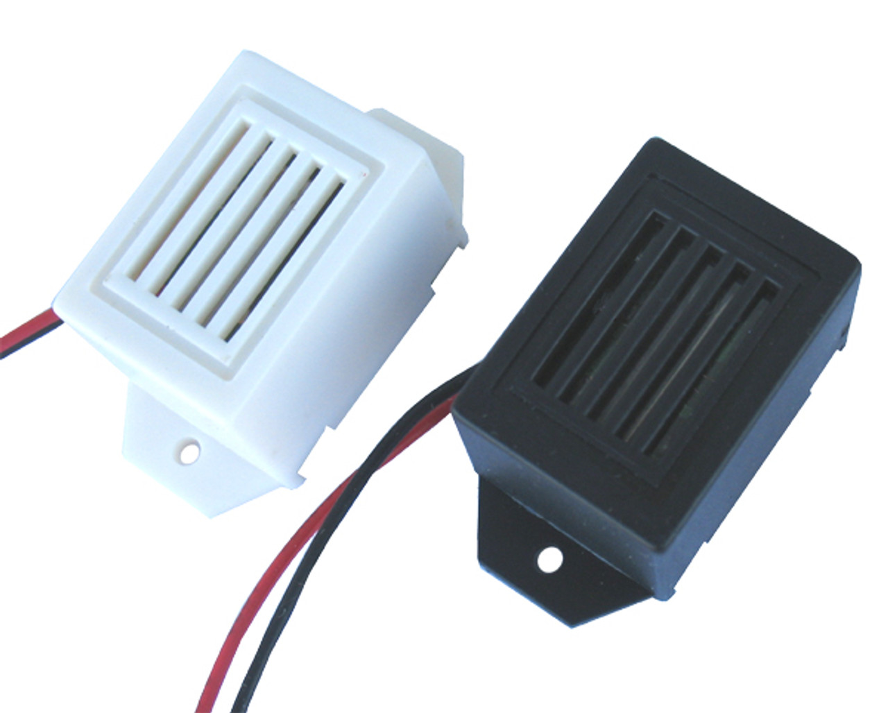 Low voltage buzzers (black and white)