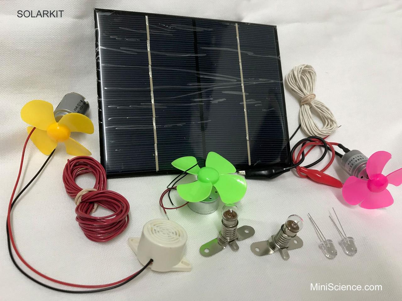 Solar Science Kit