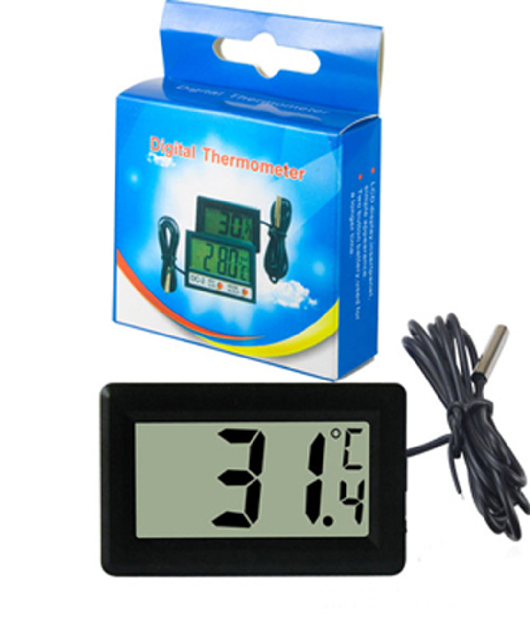 Digital thermometer with sensor probe