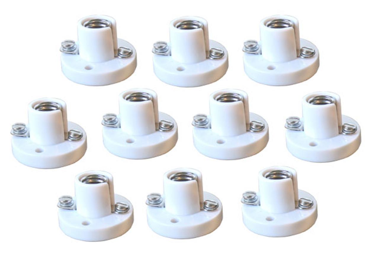 Lamp holder MINIBASE pack of 10