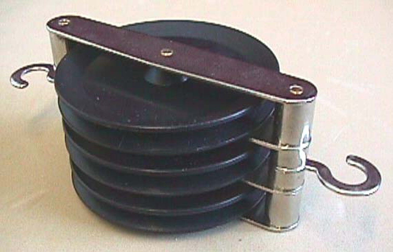 Triple Parallel Pulley, 50mm