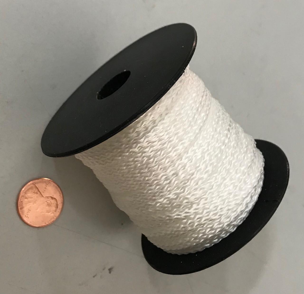 Nylon String for Pulley, 2-mm diameter, 100-feet long