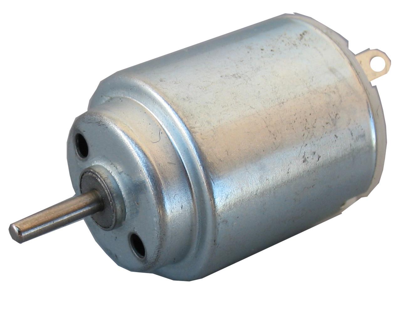 Toy motor, hobby motor, DC motor, miniature motor, small motor, low voltage motor. Round