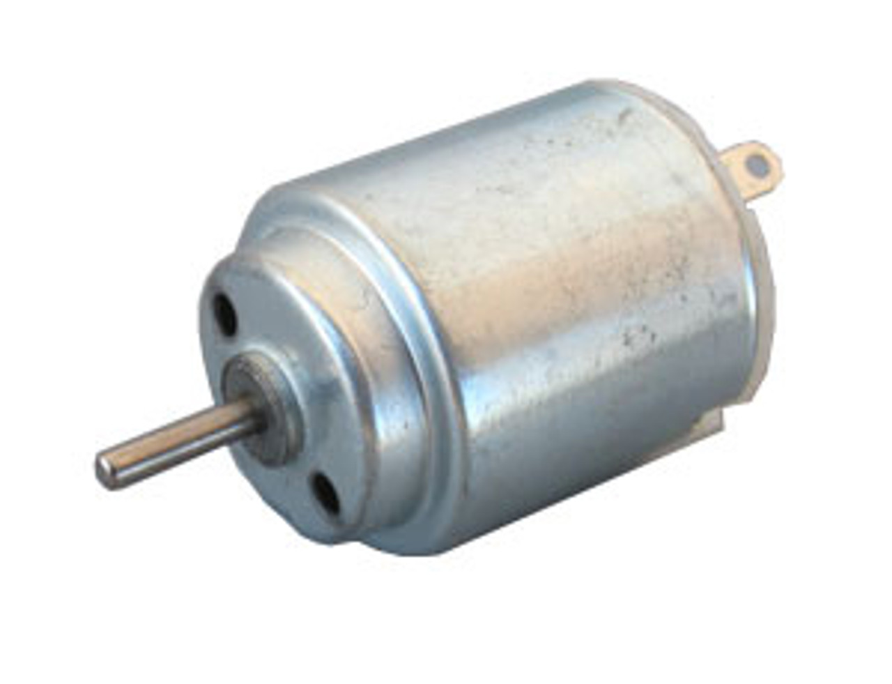 Toy motor, hobby motor, DC motor, miniature motor, small motor, low voltage motor. Round