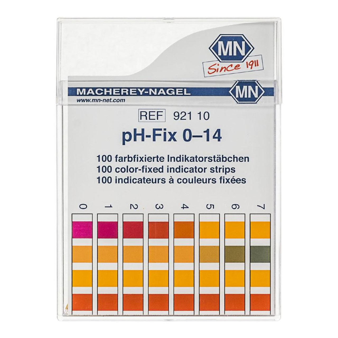 pH Indicator Strip, **Select Special Range**