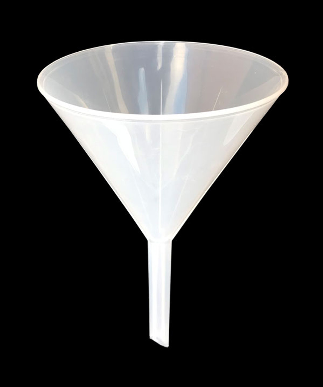 Long Stem Funnel, (Large)150 mm, Polypropylene