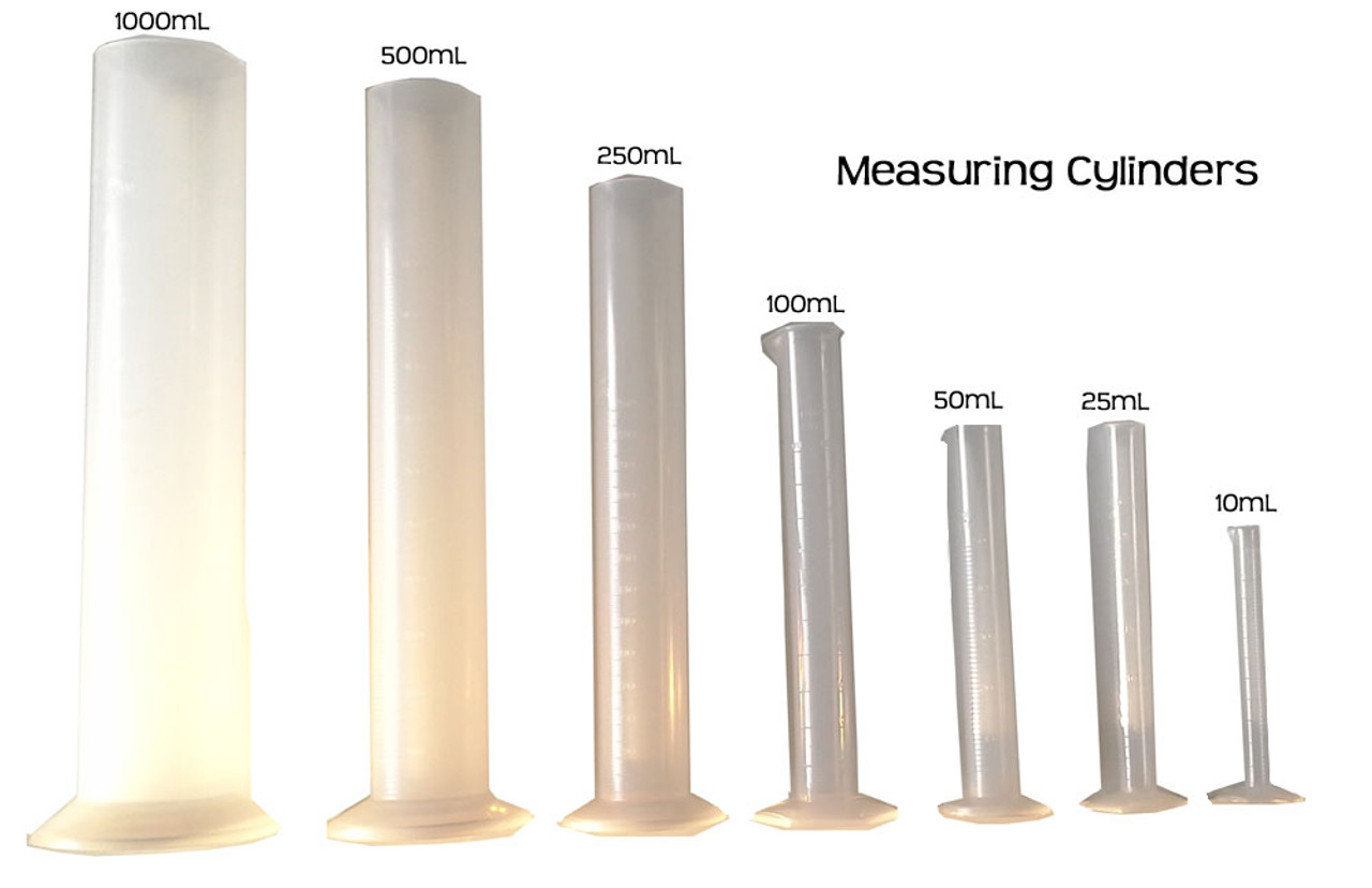 Graduated Measuring Cylinder, 1000mL Polypropylene