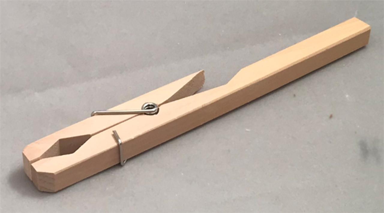 Wooden Test Tube Clamp, Test tube holder