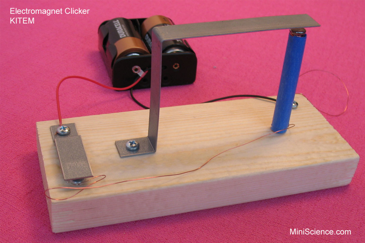 Make an electromagnet clicker