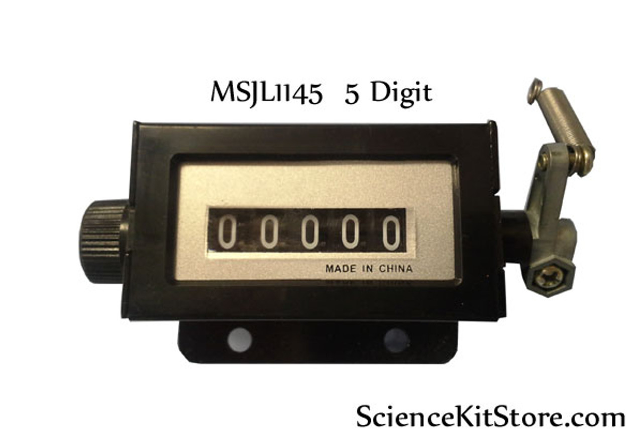Mechanical Industrial Counter, 5 Digit