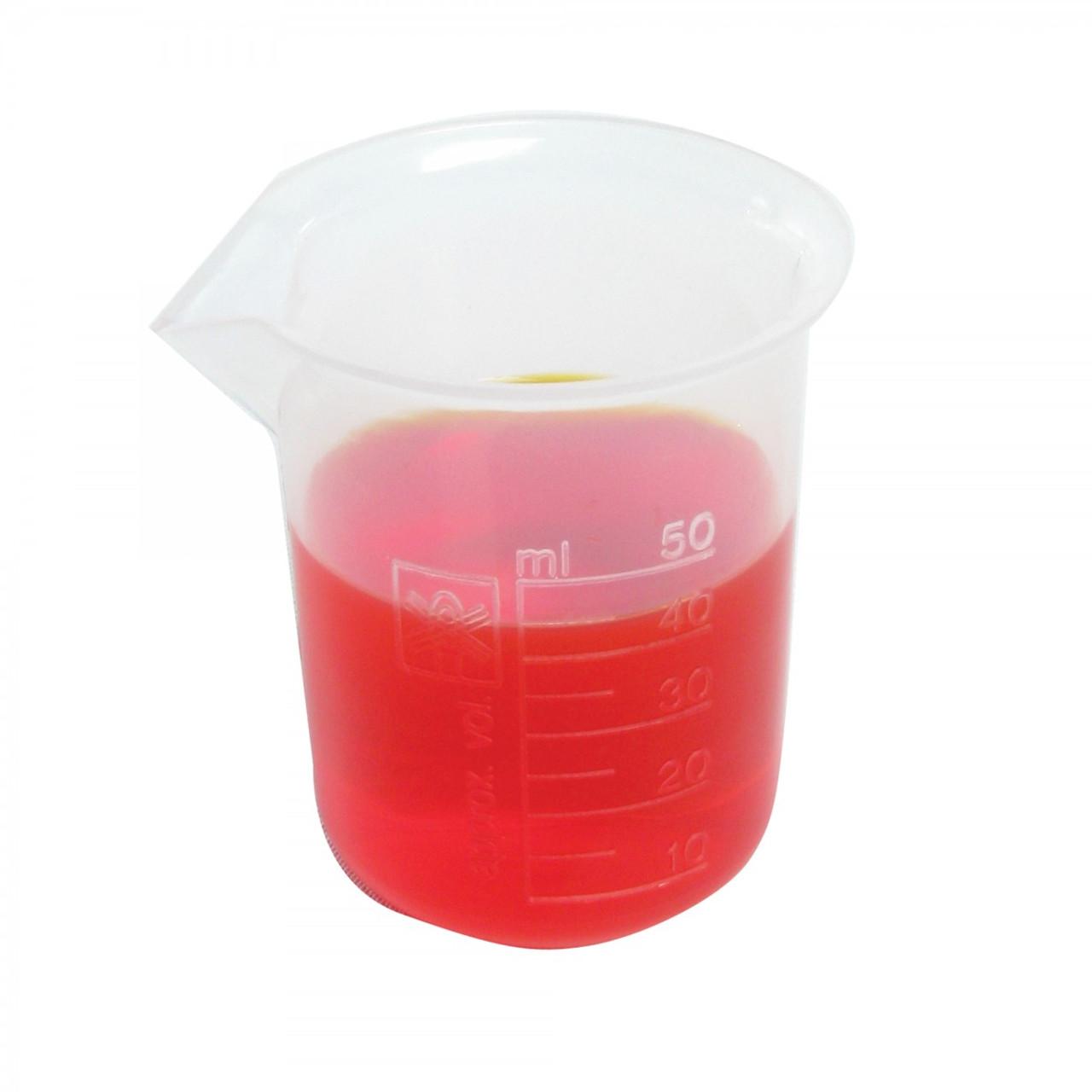 Beaker 50mL, Polypropylene