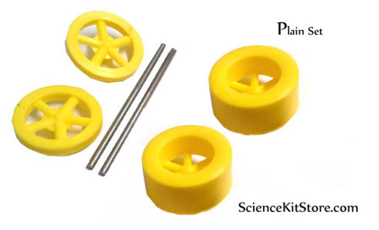 Plastic Wheels, Plain Set
