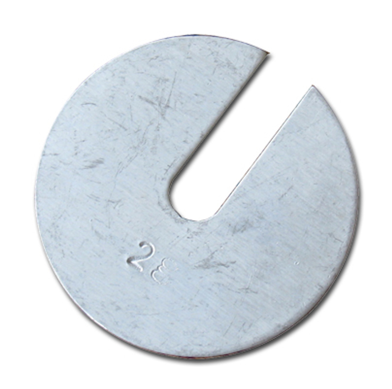 Slotted Weights, 2 grams