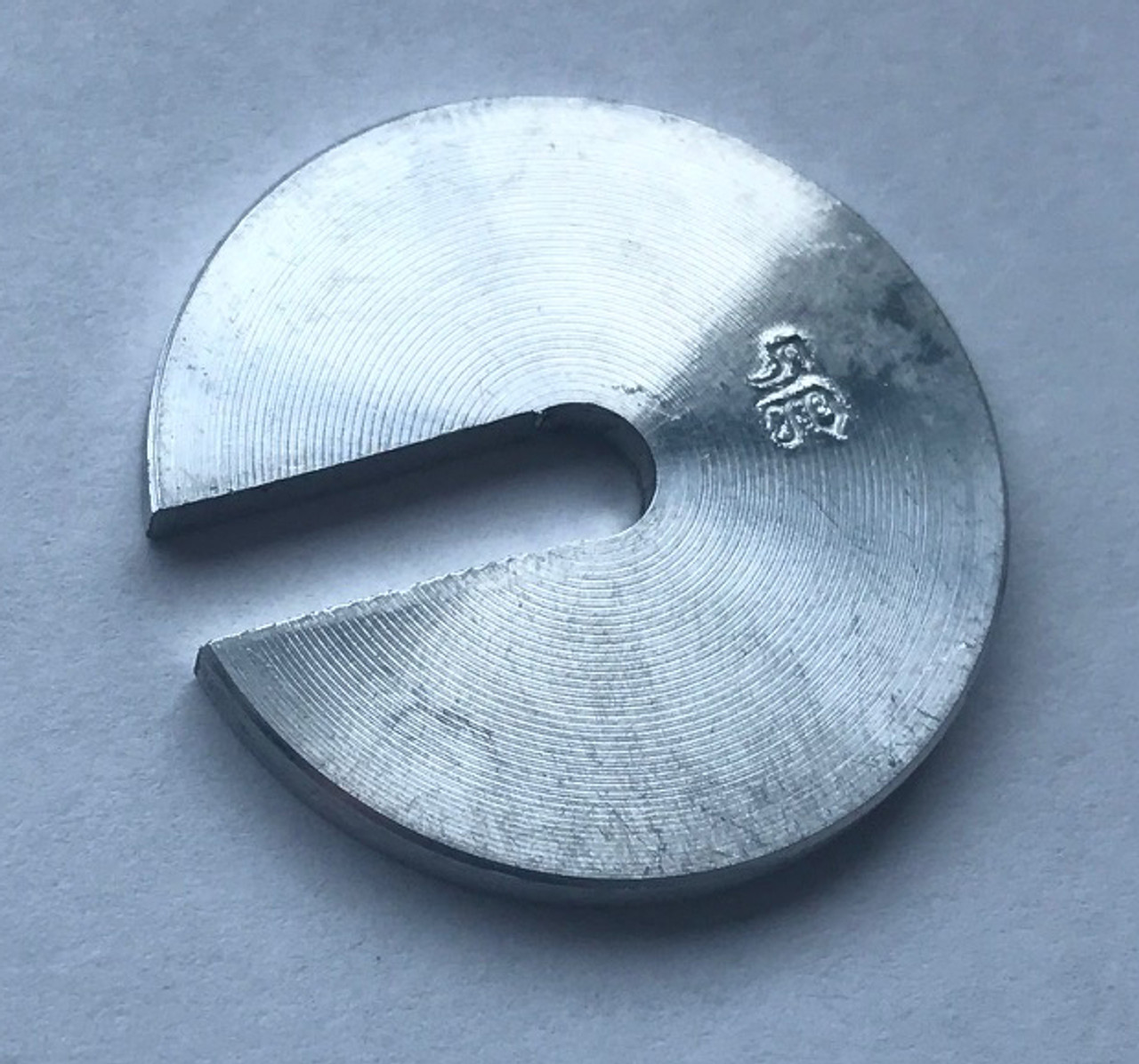 Slotted mass, Slotted Weight, 5 grams, for Aluminum hangers