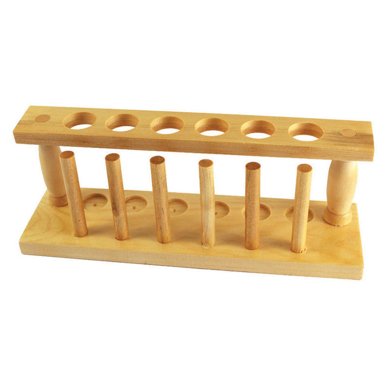 Test Tube Rack, Wooden