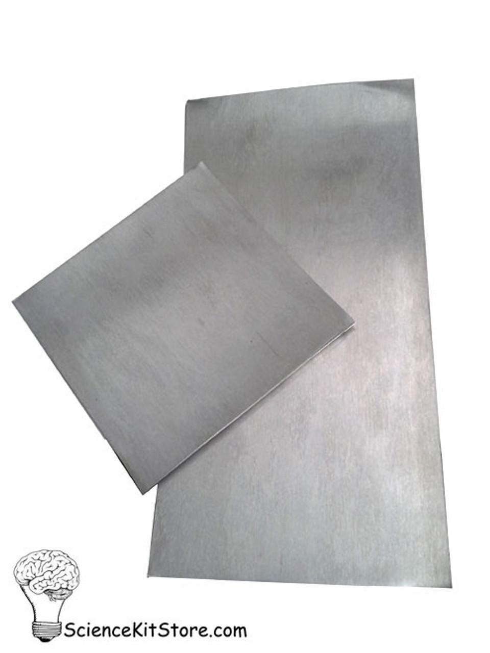 "Zinc Plates/Electrodes - 6"" x 6"""