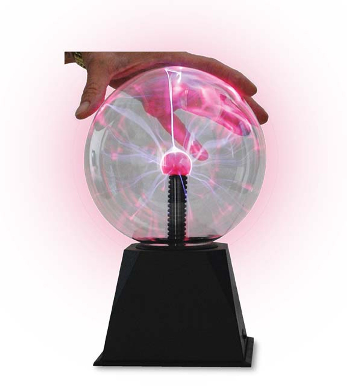 Large plasma bulbs such as this product may be used for many experiments and observations related to high frequency electromagnetic forces.