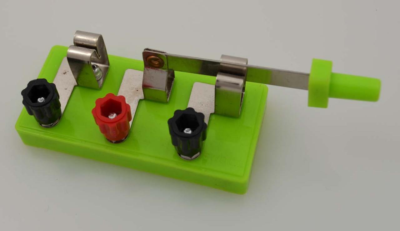 Knife Switch, SPDT, educational