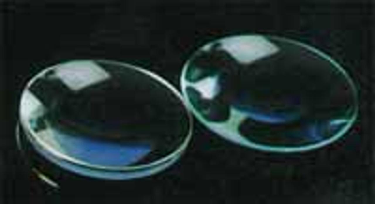 Lenses Spherical,  Bi-Convex, 75 mm Diameter