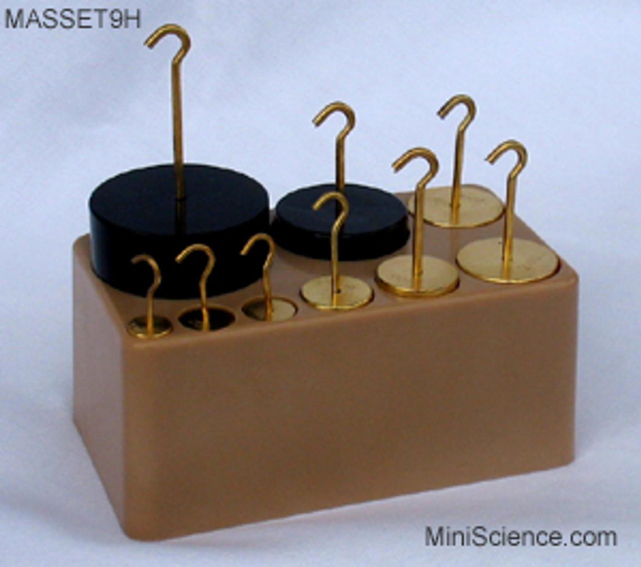 Masses with Hooks, Set of 9