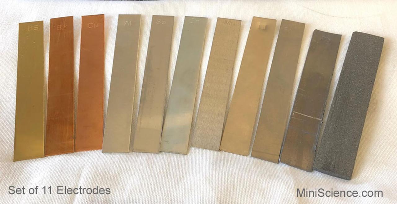 Metal Electrodes Set of 11