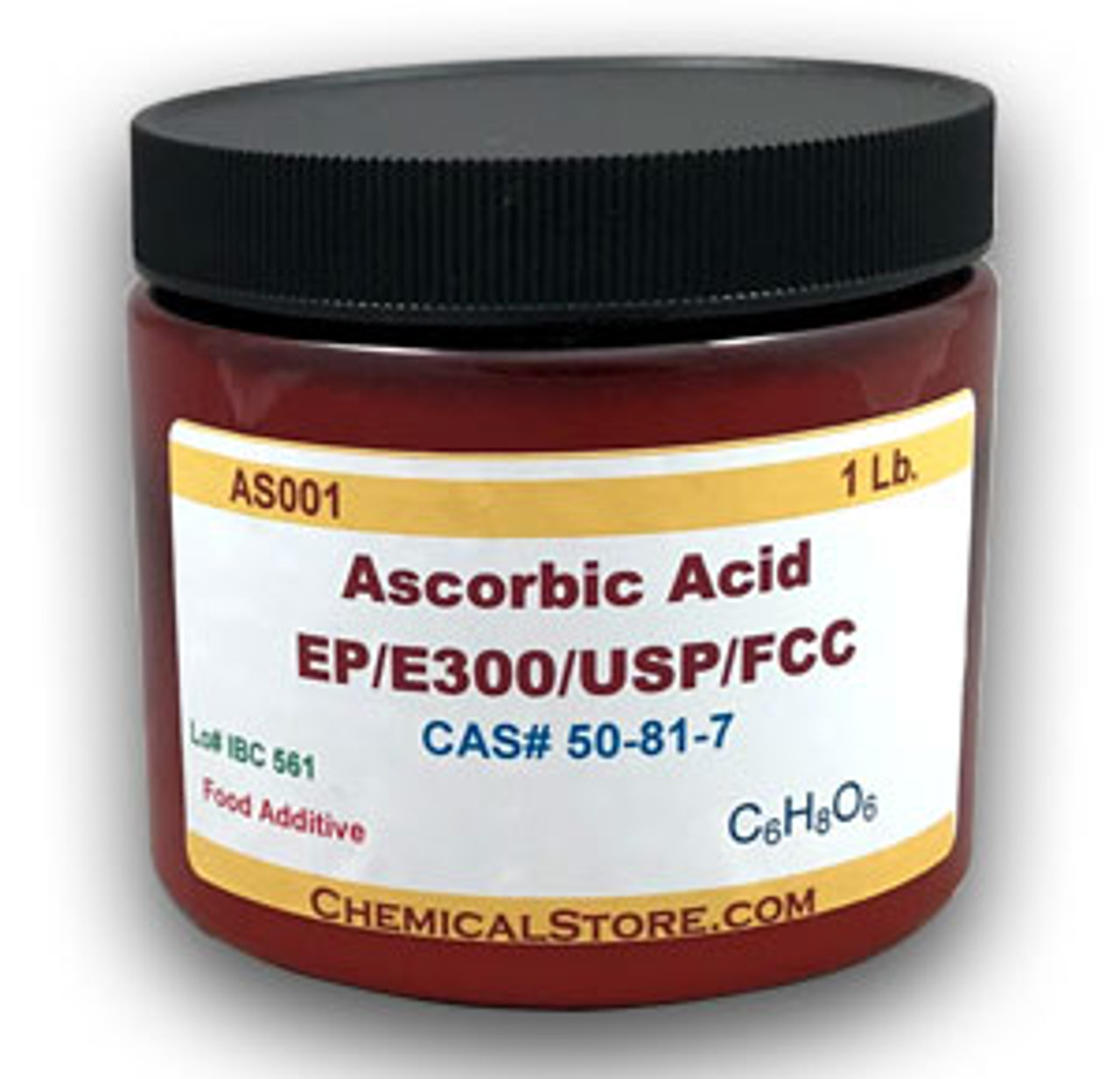 Ascorbic acid food grade and pharmaceutical grade for professional and laboratory use.